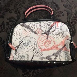 NWOT Lacome Paris Theme Makeup Bag